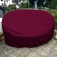 Sonneninsel Schutzhülle Oval 235cm Bordeaux