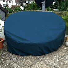 Sonneninsel Schutzhülle Oval 235cm Marine/Blau