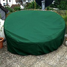 Sonneninsel Schutzhülle Rund 200cm Grün PREMIUM
