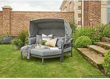 Sonneninsel Wenzel mit Kissen Garten Living Farbe: