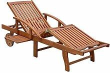 Sonnenliege Gartenliege Relaxliege Strandliege