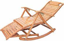 Sonnenliege Holz Klappbar Wetterfest mit Auflage