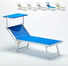 Sonnenliege Luxus Italienische Strandliege mit