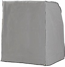 Sonnenpartner Schutzhülle für Strandkorb 2-Sitzer grau 125x114x154cm 70090033