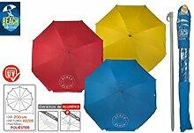 Sonnenschirm - Aluminium / Polyester-sonnenschutz TresColores Haus und Mehr - Rote
