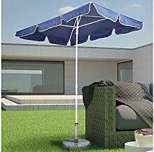Sonnenschirm blau Sonnenschutz Gartenschirm