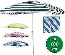 Sonnenschirm rechteckig 120x180cm Strandschirm
