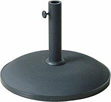 Sonnenschirmständer–BETON–25kg–schwarz