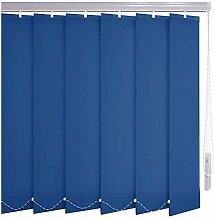 Sonnenschutz-HH® - Lamellenvorhang blau