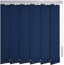 Sonnenschutz-HH® - Lamellenvorhang dunkelblau