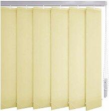 Sonnenschutz-HH® - Lamellenvorhang hellgelb-creme