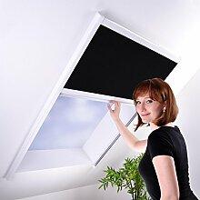 Sonnenschutz-Plissee für Dachfenster - Dachfensterplissee Sonnenschutzplissee Sichtschutz weiß