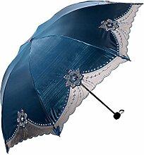 Sonnenschutz Sonnenschutz UV-Schutz Spitze Mode Schöne Regenschirm,02
