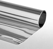 Sonnenschutzfolie Extrem mit Spiegeleffekt Selbstklebend 152 x 2000 cm Silber
