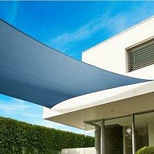 Sonnensegel quadratisch 540 cm, blau