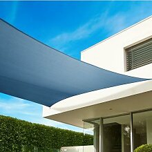 Sonnensegel quadratisch 540 cm, grau