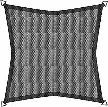 Sonnensegel Sonnenschutz SunSail RIVIERA, Quadrat 3,6 x 3,6 m, UV-Schutz, witterungsbeständig, KHAKI; 10891