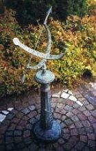 Sonnenuhr mit Säule aus Bronze GA 0219 BR-V1
