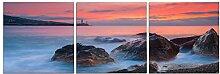 Sonnenuntergang Landschaft/ Wohnzimmer-Bild/ Sofa