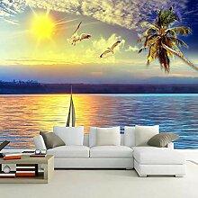 Sonnenuntergang Seascape 3D Fototapete Für Wände