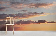 Sonnenuntergang wolken Fototapete 200×150cm