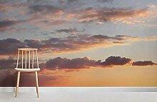 Sonnenuntergang wolken Fototapete 250×175cm