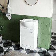 Sonni - Badmöbel Set Waschbecken Mit Unterschrank