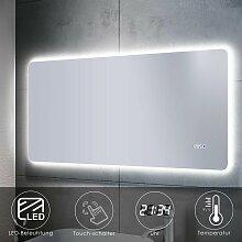 Sonni - Badspiegel LED Touch 120x60 mit