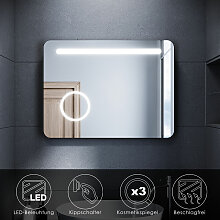 SONNI LED Badspiegel Badezimmerspiegel mit LED