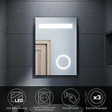 SONNI LED Badspiegel Wandspiegel Kosmetikspiegel