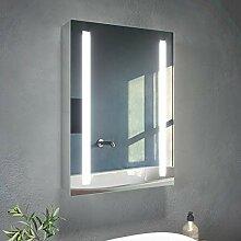 SONNI LED Spiegelschrank 50x70cm Sadezimmerschrank