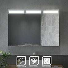 Sonni - Spiegelschrank mit LED Beleuchtung Bad
