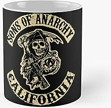 Sons Style Anarchy Best 11 Ounce Ceramic Coffee