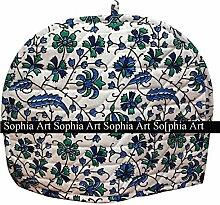 Sophia Teewärmer mit indischem Druck,