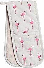 Sophie Allport Flamingos Doppelter Ofenhandschuh