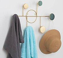 SOPRETY Metall-Garderobe, Wandmontage, Hutablage,