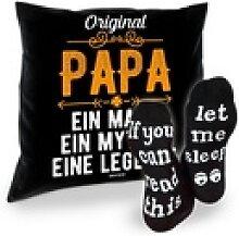 Soreso® Dekokissen Kissen Original Papa &