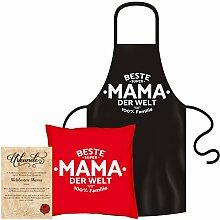 Soreso Design Beste Mama der Welt: Kissen &