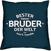Soreso Design Bruder - Geschenk-Set Kissen inkl.