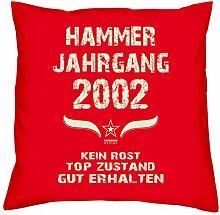 Soreso Design Geschenk 17. Geburtstag Hammer