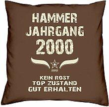 Soreso Design Geschenk 18. Geburtstag Hammer