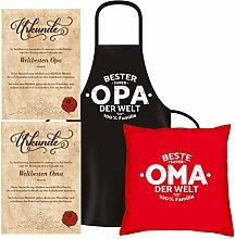 Soreso Design Geschenk Set für Oma & Opa :