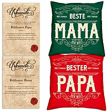 Soreso Design Geschenk Weihnachten Papa Mama
