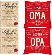 Soreso Design Geschenk Weihnachtenfür Oma Opa :-: