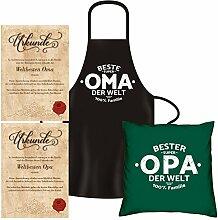 Soreso Design Geschenke für Oma & Opa - Kissen