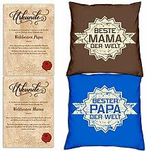 Soreso Design Geschenke Set für Mama und Papa -