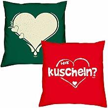 Soreso Design Love Herz kuscheln zum Valentinstag,