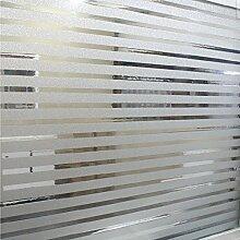 Soriace® Prämie 2D Statische Fensterfolie Sonnenschutz und Isolierung / Sichtschutzfolie / Dekorfolie / Statisch Folie für Fenster (Selbstklebend und Kein Klebstoff), 1.5Ft X 6.5Ft.(45 x 200Cm)(Muster 1)
