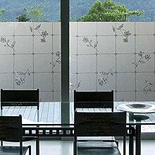 Soriace Prämie Stereo Brechungs Statische Fensterfolie Sonnenschutz und Isolierung / Sichtschutzfolie / Dekorfolie / Statisch Folie für Fenster (Selbstklebend und Kein Klebstoff), 1.5Ft X 6.5Ft.(45 x 200Cm)(Muster 8)
