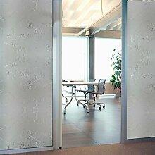 Soriace Prämie Stereo Brechungs Statische Fensterfolie Sonnenschutz und Isolierung / Sichtschutzfolie / Dekorfolie / Statisch Folie für Fenster (Selbstklebend und Kein Klebstoff), 1.5Ft X 6.5Ft.(45 x 200Cm)(Muster 4)